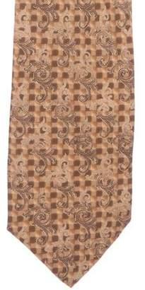 Versace Silk Jacquard Tie