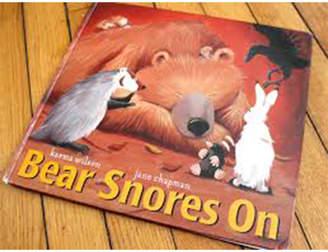 Simon & Schuster Bear Snores On