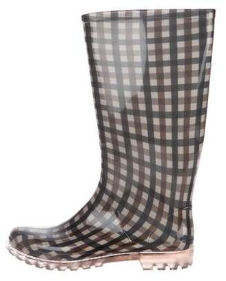 Aquascutum London Rubber Rain Boots