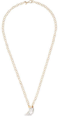 Melissa Joy Manning 14-karat Gold Pearl Necklace - one size