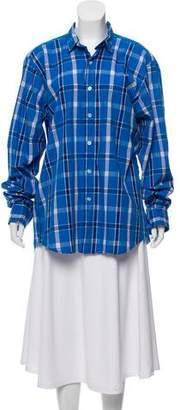 Steven Alan Pointed Collar Button Up Shirt