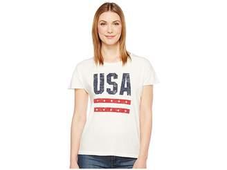 Alternative Cotton Jersey Distressed Rocker Tee Women's T Shirt