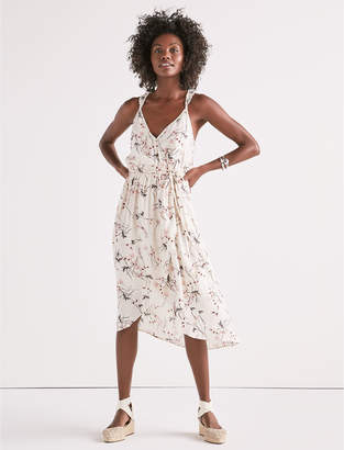 Lucky Brand Floral Wrap Dress