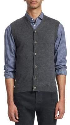 Brunello Cucinelli V-Neck Buttoned Vest