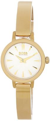 HUGO BOSS Women's Slim Ultra Mini Bangle Watch $265 thestylecure.com