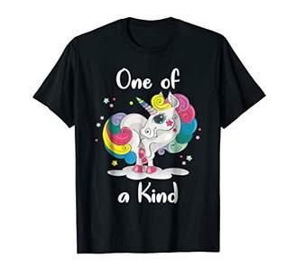 Of A Kind One Cute Unicorn T-Shirt