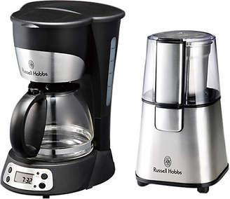 Russel Hobbs (ラッセル ホブス) - [ラッセルホブス] 【YY】5カップコーヒーメーカー&コーヒーグラインダー