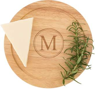 Cathy's Concepts 5-Piece Monogram Cheese Board & Utensil Set