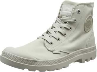 Palladium Womens Grey Mono Chrome Boots-UK 6