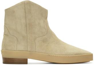 Fear Of God Beige Sante Fe Western Chelsea Boots