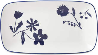 Kate Spade Spring Street Cobalt Hors d'Oeuvres Tray