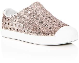 Native Girls' Jefferson Waterproof Slip-On Sneakers
