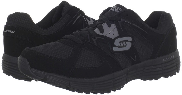 Skechers Agility - Outfield (Black/Charcoal) - Footwear