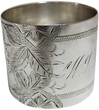 One Kings Lane Vintage Antique Sterling Silver Napkin Ring
