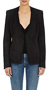 Brock Collection WOMEN'S PRINCESS COLLARLESS JACKET-BLACK SIZE 4