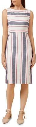 HOBBS LONDON Summer Stripe Dress $250 thestylecure.com