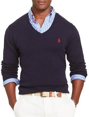 Polo Ralph Lauren Pima Cotton Slim Fit Sweater $98.50 thestylecure.com