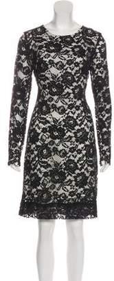 Theory Lace Knee-Length Dress w/ Tags