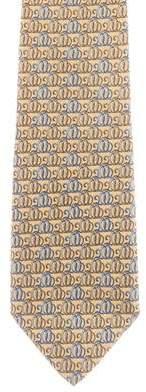 Salvatore Ferragamo Printed Silk Tie