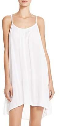Boho Me Embroidered-Strap Back Mini Dress Swim Cover-Up