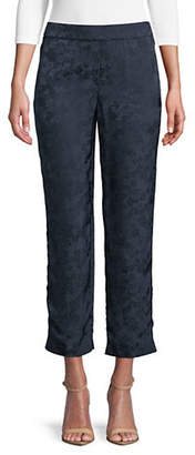 Theory Floral Pull-On Trousers