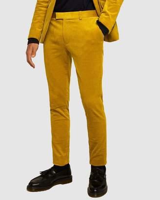 Topman Corduroy Super Skinny Trousers