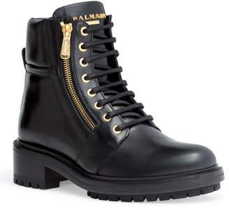 Balmain Army Ranger 40 black lace-up boots