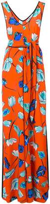 Diane von Furstenberg floral print long dress
