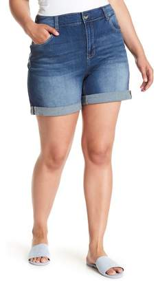 Melissa McCarthy Cuffed Girlfriend Short (Plus Size)