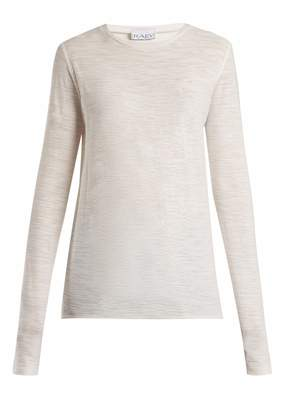 Raey Long-sleeved slubby cotton-jersey T-shirt