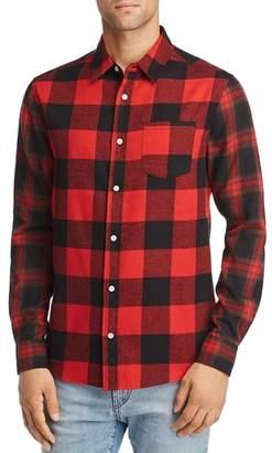 Buffalo David Bitton The Narrows Check Regular Fit Flannel Shirt - 100% Exclusive
