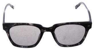 John Varvatos Square Tinted Sunglasses grey Square Tinted Sunglasses