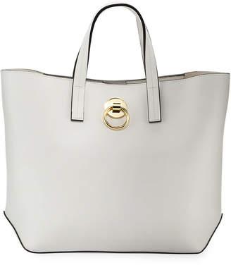 Neiman Marcus Moira Faux-Leather Satchel Bag