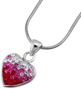 Swarovski Oliver Weber Life Collection 7522 Red Ladies' Pendant 925 Sterling Silver Crystal 43cm (+5cm ext) Chain