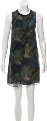 Theyskens' Theory Silk Sleeveless Dress