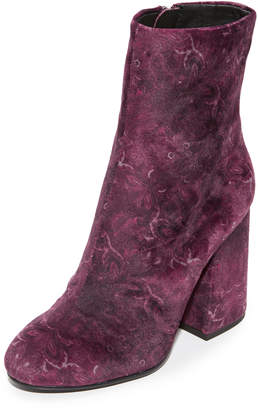 Ash Fedora Embroidered Booties $198 thestylecure.com