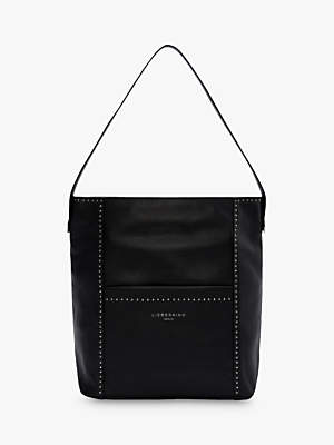 Liebeskind Berlin Stud Love Leather Medium Hobo Bag 868575af9c1ac