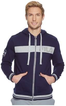 Fila Locker Room Zip-Up Hoodie Men's Sweatshirt