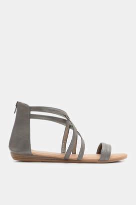 5b4ef1814cf Grey Gladiator Sandals For Women - ShopStyle Canada