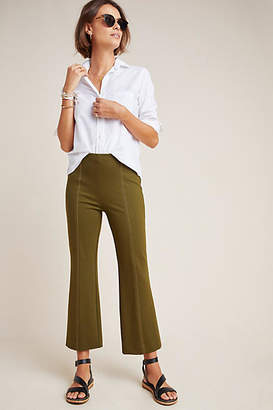 Anthropologie Essentials by The Essential Cropped Flare Trousers