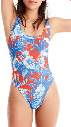 J.Crew J. CREW Ratti Rio Floral One-Piece Swimsuit