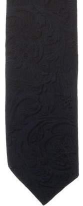 Versace Silk Barocco Print Tie