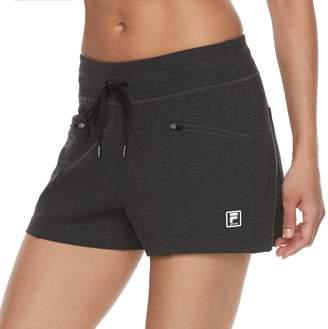 Fila Sport Women's SPORT Zip Pocket Drawstring Shorts