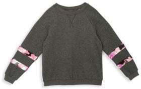 Hudson Jeans Girl's Ariel Sequin Crewneck Sweater