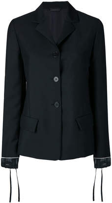 Jil Sander slim button jacket