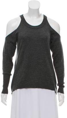 Ramy Brook Cold-Shoulder Knit Sweater