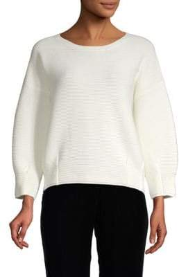 French Connection Rib-Knit Sweatshirt