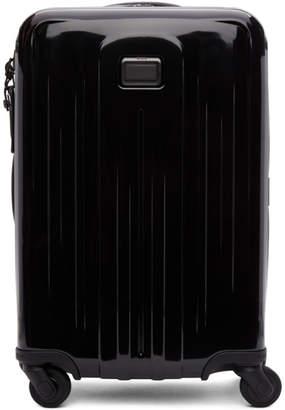 Tumi Black International Expandable 4 Wheeled Carry-On Suitcase
