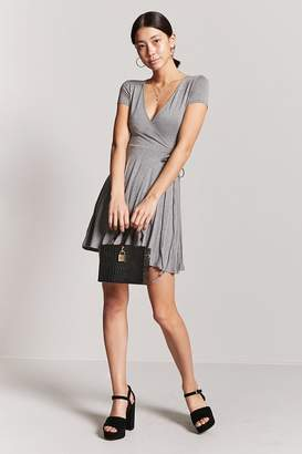 Forever 21 Surplice Wrap Dress