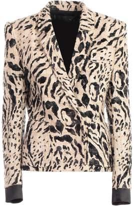 Haider Ackermann Leopard Pattern Blazer